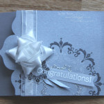 Shimmery Silver Giftcard Holder