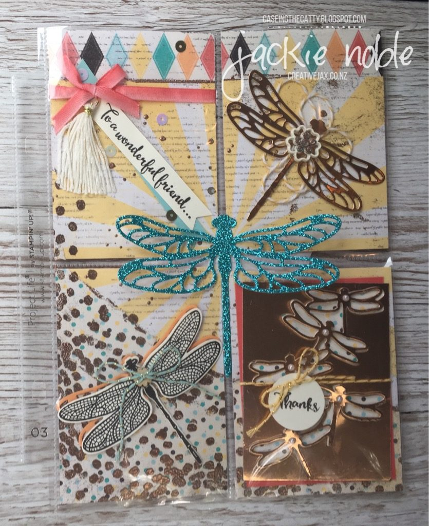Dragonfly Pocket Page Letter