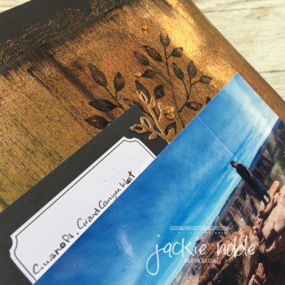 Copper Passion - scrapbook page elements