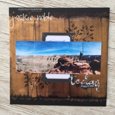 "Copper Passion - 12x12"" scrapbook page"