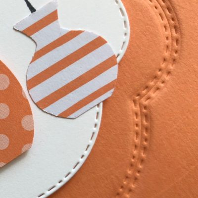 Embossed Stitched Seasons - Tutorial Bundle August Blog Hop - CreativeJax