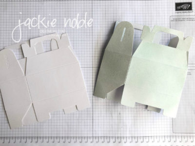 Gable box - coloured and plain