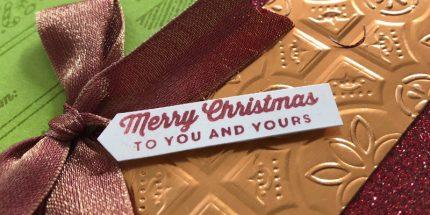 Holiday Catalogue Acheivers Blog Hop
