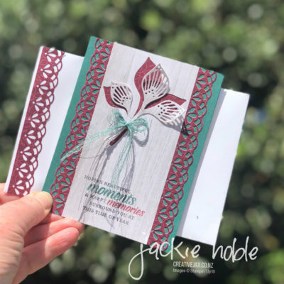 pohutukawa tree inspired cards