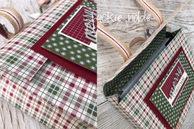 Festive Farmhouse DSP satchel Gift Box