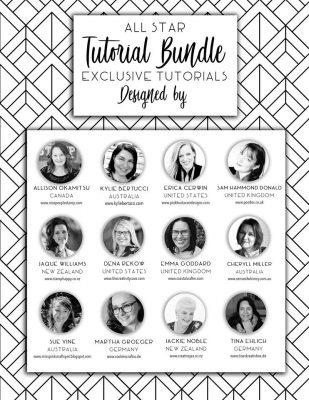 All Star Tutorial Bundle Design Team 2019