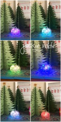 Mini Curvy Keepsakes Christmas Luminary