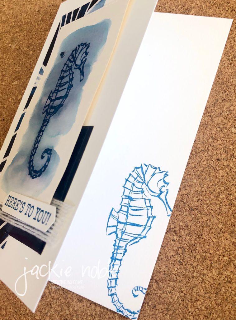 Seahorse Swap card - Inside