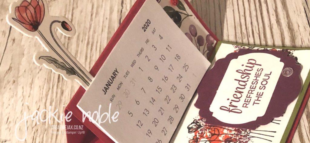 poppies calendar