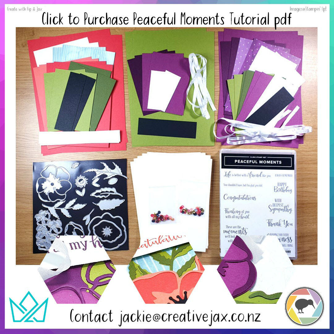 Click Order the Creative with Pip & Jax Peaceful Moment Tutorial via PayPal