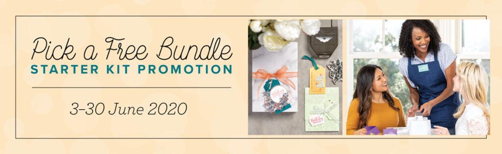 June 2020 Free Bundle promotion